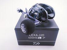 Daiwa Lexa HD 400 - Newest 2019 Version - LX-HD400HSL-P * Left Hand