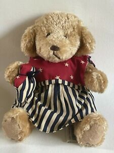 VTG Ganz Cottage Collectibles Jointed Bear By Artist Carol E Kirby Annie #CC202
