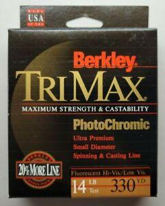Berkley TriMax Fishing Line PhotoChromic Fluorescent - 14 Lb Test - 330 Yards