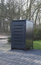 1 Mülltonnenbox Modell No.6 Anthrazit komplett RAL7016 für 120Liter Mülltonnen