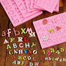 Letter Alphabet Silicone Cake Mold Fondant Cupcake Sugar Craft Baking Tool Mould