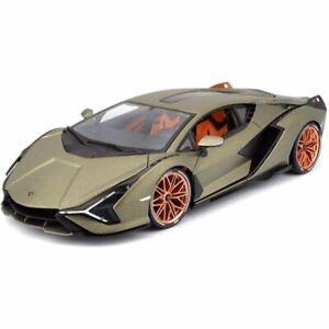 1:18 Lamborghini Sian FKP-37 -- Electric Gold -- Bburago
