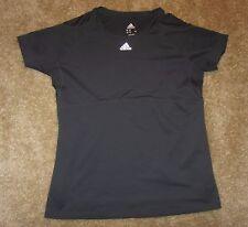 Adidas Mens T-shirt, Gray, 100% Polyester, Size M, Euc