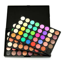 120 colori opachi Ombretto Eye Shadow Palette trucco Kit Set Pro per Popfeel