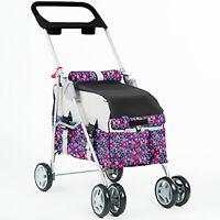 New BestPet Fashion Flower Pet Stroller/Carrier/Car Seat