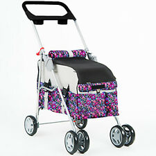 New listing New BestPet Fashion Flower Pet Stroller/Carrier/Car Seat