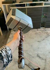 1:1 Full Solid Avengers Thor Hammer Replica Prop Mjolnir