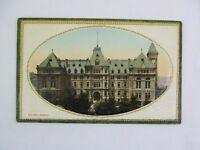 Vintage Postcard City Hall Building Quebec Canada