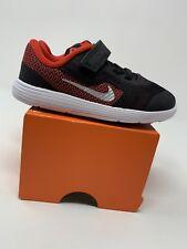 TODDLER BOYS: Nike Revolution 3 Shoes, Black & Red - Size 8C 819415-600