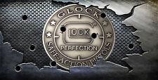 Glock License Plate Glock  Lock Protection Gun Pistol License Plate Man Cave
