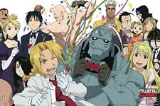 Fullmetal Alchemist Character Celebration 36 X 24 inch Poster