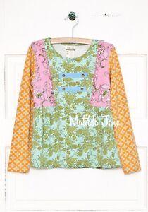 Matilda Jane Girls Size 4 Secret Fields Cottonwood Blossoms Tee Top New