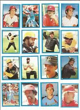 1982 O-Pee-Chee Baseball Sticker Keith Hernandez #92 St Louis Cardinals *MINT*