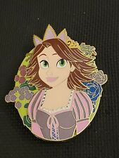 Disney Fantasy Pin Pop Series Rapunzel Wedding Short Brown Hair Tangled LE 50