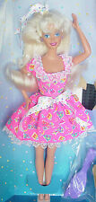 Pretty BIRTHDAY SURPRISE BARBIE Party Dress Still in Original Box