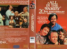 ALL IN THE FAMILY - 20th ANNIVERSARY SPECIAL - VHS - PAL - NEW - Never played!