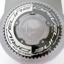 mr-ride DRIVELINE TT Chainring 55T BCD 130MM Black/Silver for Sram FSA