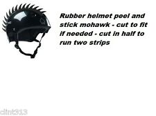 skateboarding rubber mohawks helmet bmx skate bike helmets NOT INCLUDED mohawk S