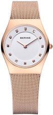 Bering Time - Classic - Ladies Rose Gold Mesh Watch 11927-366 (Women's)