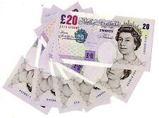 Lowther Elgar veinte libras £ 20 billete de 1999 - 2003 Mint uncirculated B386