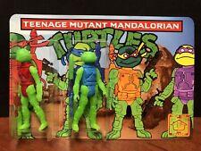 DKE 2017 SDCC Teenage Mutant Mandalorian Turtles TMNT Figures EM3890