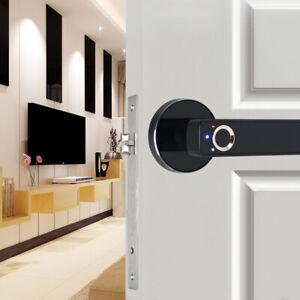 Smart Biometric Fingerprint Lock Electronic Keyless Password Door Lock Home