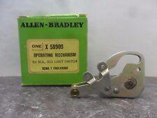 New Allen Bradley X 58909 Operating Mechanism 801 Limit Switch Nema 1 NIB