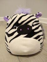 "New Squishmallow Michaela Purple Zebra RARE 7"" Soft Plush Stuffed Animal Sealife"