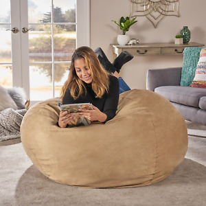 Lila Faux Suede Bean Bag