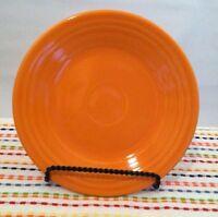 Fiestaware Tangerine Lunch Plate Fiesta Retired Orange 9 inch Luncheon Plate