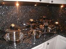Cookware Set 12pc Swiss KNIFE SET Casserole Waterless FREE Shipping Master CHEF