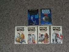 Doctor Who Bbc Books Lot - Doctors 8-12