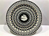 "Wedgwood Jasperware ""MUSEUM SERIES"" C.1978 ~ Diced Trophy Plate #84/500 with COA"