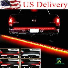 """USA 60"""" Truck Tailgate LED Light bar 5 Functions Brake /Running/Signal/Reverse"""