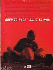 Vintage Go-Kart 1200 AD / ADVERTISEMENT: ORIGINAL! Go Cart, IKF,Moly,