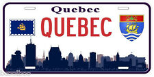 Quebec City Canada Aluminum Novelty Car License Plate
