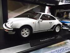 Porsche 911 930 turbo 3.3 LTR. 1987 - 1989 blanco white 1/1000 nuevo norev 1:18