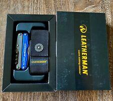 New, Leatherman Juice CS4 Columbia Blue Multi-Tool Collectible, Gift Box, Sheath