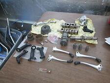 Vintage NOS Honda Motorcycle Parts Lot Levers Shift Fork Drums Spindle Pedal Etc
