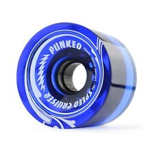 Gel Blue Longboard Skateboard WHEELS 71mm (Set of 4)