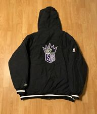 Vintage Reebok Sacramento Kings Puffer Jacket Size Men's 2XL XXL
