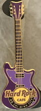 Hard Rock Cafe HO CHI MINH CITY 2012 Vertical Purple GUITAR PIN - HRC #65719