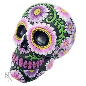 Sugar Petal Skull 10cm High Day of the Dead Nemesis Now