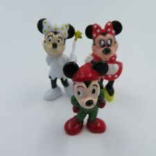 Disney Figures Including Minnie Mouse Cake Toppers