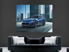 Póster de pared gigante coche Maserati Arte Foto Impresión Grande Enorme