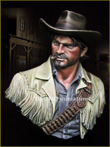 Young Miniatures 1/10 Wild Wild West YH1835 Unpainted resin Bust