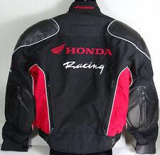 Honda Racing Coat Jacket Motorcycle Motorbike Padded New Rider Collection Sz XL