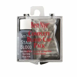 Ben Nye Complete Stage Blood Pack with Capsules
