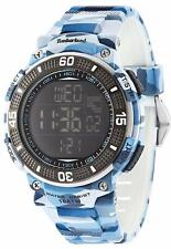 Timberland Cadion Men's Digital Camouflage Rubber Strap Watch 13554JPBL/02