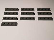 LEGO 30 x plaque 1x3 Nouveau Gris Foncé newdark Grey Gray Plate 3623 4211133